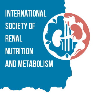 logo for international society of renal nutrition and Metabolism